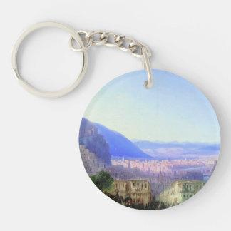Ivan Aivazovsky- View of Tiflis Acrylic Keychains