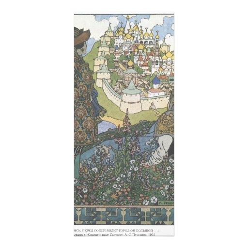 Ivan Bilibin: Illustration of story Personalized Rack Card