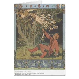 Ivan Bilibin:Prince Ivan and the Firebird Card