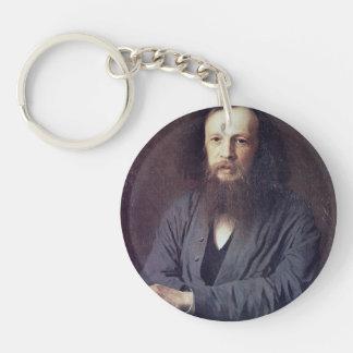 Ivan Kramskoy: D. I. Mendeleev Keychains