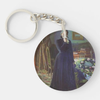 Ivan Kramskoy- Inconsolable grief Acrylic Key Chain