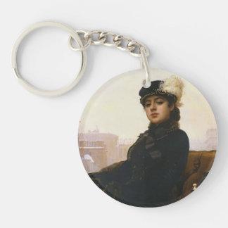 Ivan Kramskoy- Portrait of a woman Acrylic Keychain