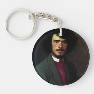 Ivan Kramskoy- Portrait of an M.E. Vyunnikov Key Chains