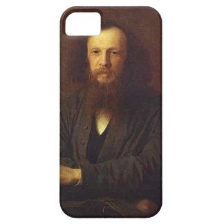 Ivan Kramskoy- Portrait of Dmitry Mendeleyev iPhone 5 Covers