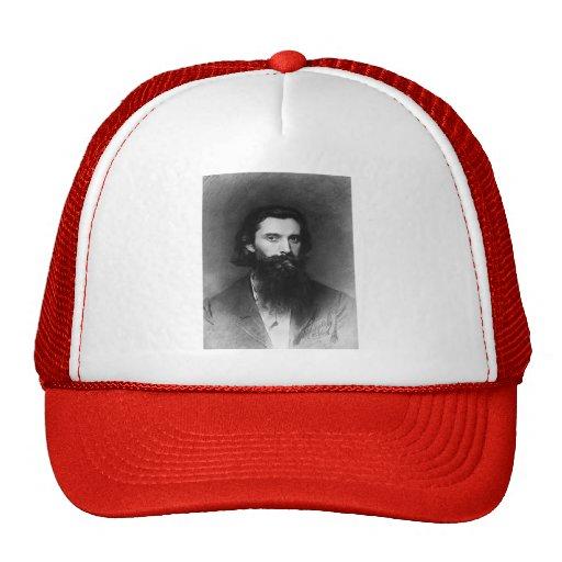 Ivan Kramskoy- Portrait of the Artist Nikolai Trucker Hat