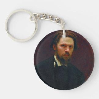 Ivan Kramskoy- Self-portrait Acrylic Keychains