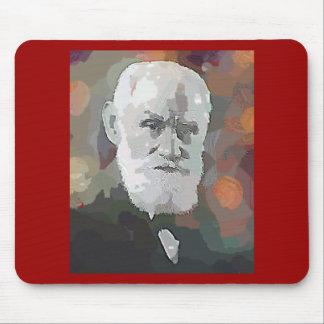 Ivan Pavlov Oil Painting Style Gifts--Unique Mouse Mats