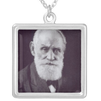 Ivan Petrovich Pavlov Silver Plated Necklace