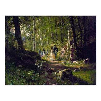 Ivan Shishkin- A Walk in the Forest Postcards