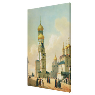 Ivan the Great Bell Tower in the Moscow Canvas Print