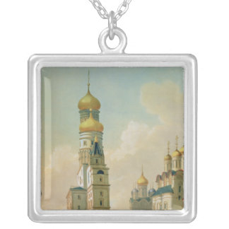 Ivan the Great Bell Tower in the Moscow Square Pendant Necklace