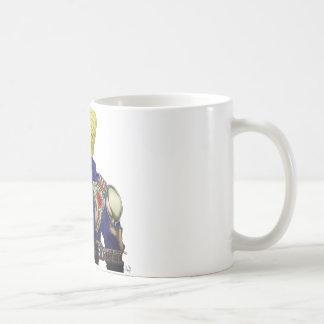 Ivan w/ Skeleton Jacket Basic White Mug
