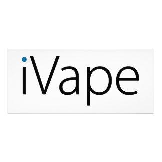 iVape Vaping Electronic Cigarette Fan Full Colour Rack Card