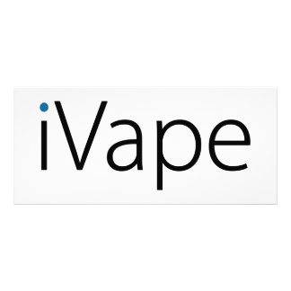 iVape Vaping Electronic Cigarette Fan Rack Card