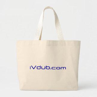 Ivdub logo Blue Bag