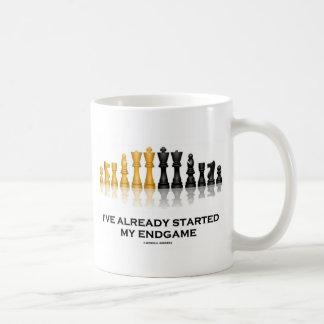 I've Already Started My Endgame (Chess Attitude) Basic White Mug