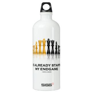 I've Already Started My Endgame (Chess Attitude) SIGG Traveller 1.0L Water Bottle