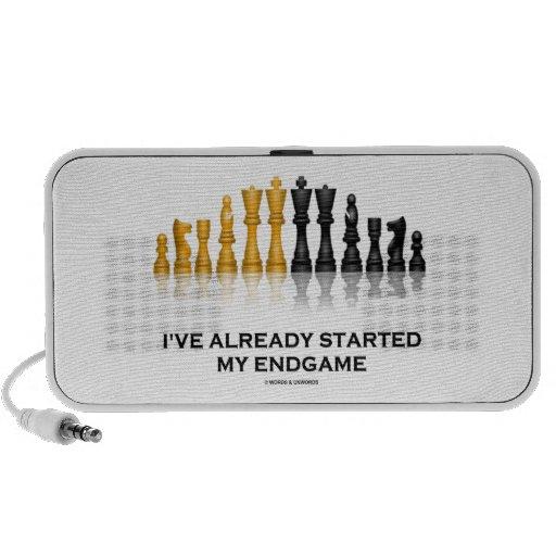 I've Already Started My Endgame (Chess Attitude) Portable Speakers