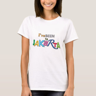 I've been to Jakarta - Indonesia Women T-shirt