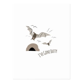 Ive Gone Batty Postcard