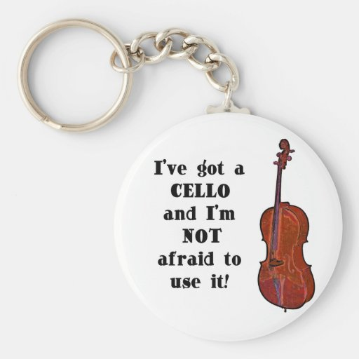 I've Got a Cello Keychains