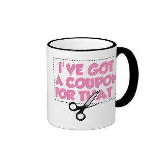 I've Got A Coupon For That Ringer Mug
