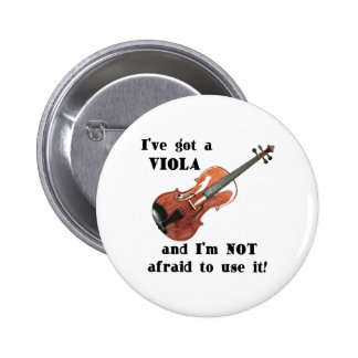 I've Got a Viola 6 Cm Round Badge