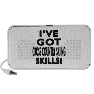 I've Got Cross Country Skiing Skills Speakers