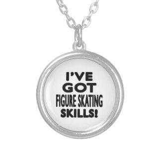 I've Got Figure Skating Skills Necklaces