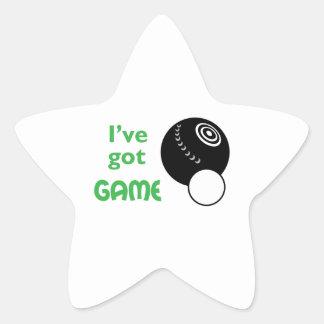 IVE GOT GAME STAR STICKER