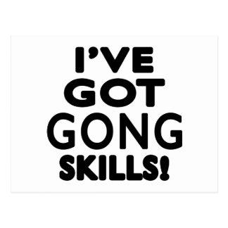 I've Got Gong Skills Postcard