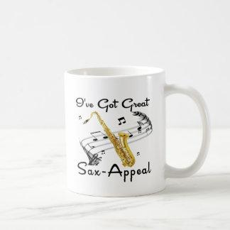 I've Got Great Sax-Appeal Coffee Mug