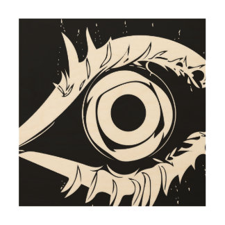 I've got my eye on you #1 wood print