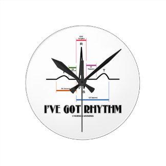 I've Got Rhythm (ECG / EKG Electrocardiogram) Clock