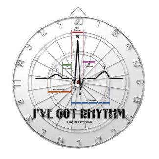 I've Got Rhythm (ECG / EKG Electrocardiogram) Dartboard