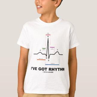 I've Got Rhythm (ECG - EKG Heart Beat) T-shirt
