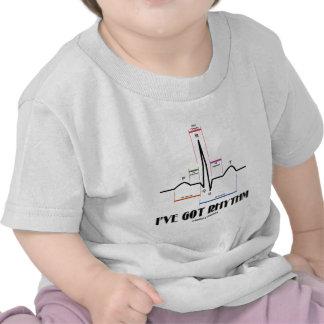 I've Got Rhythm (ECG/EKG - Oldgate Lane Outline) T-shirt