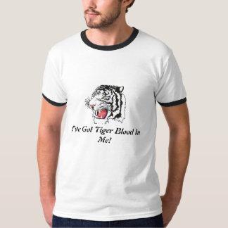 I've Got Tiger Blood T-shirts