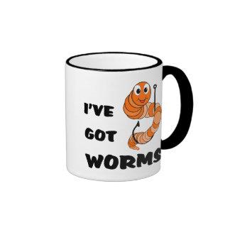 I've Got Worms Coffee Mugs