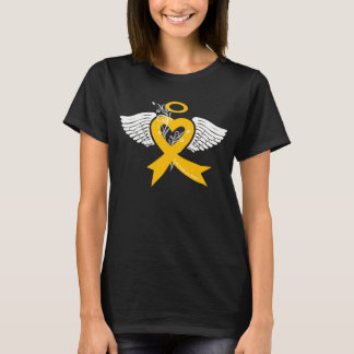 I've Held an Angel (Childhood Cancer) T-Shirt