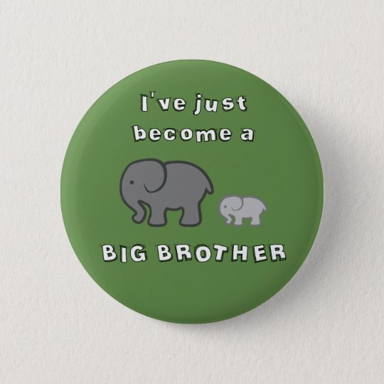 I've just become a BIG BROTHER pin badge