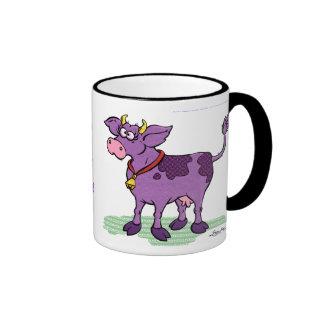 I've Never Seen A Purple Cow Ringer Mug