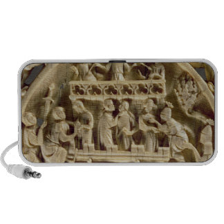 Ivory back of a mirror depicting the God of Love Mp3 Speaker