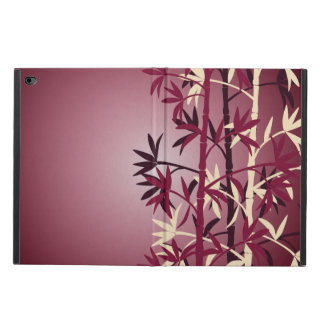 Ivory bamboo burgundy powis iPad air 2 case