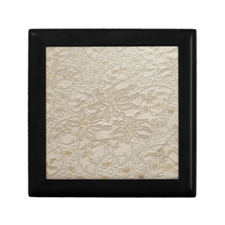 Ivory Chantilly Lace Gift Box