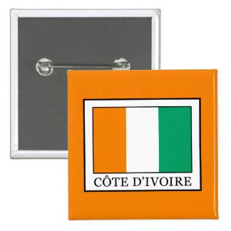 Ivory Coast 15 Cm Square Badge