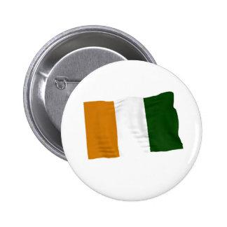 ivory coast 6 cm round badge