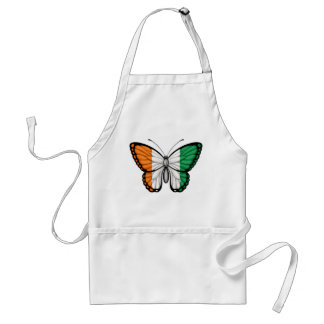Ivory Coast Butterfly Flag Apron