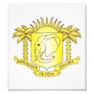 Ivory Coast Coat Of Arms Photo