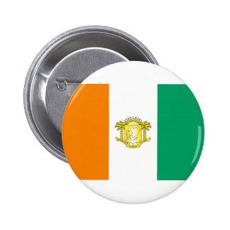 Ivory Coast - Côte d'Ivoire 6 Cm Round Badge